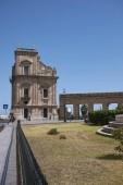 Palermo, Italy - September 08, 2018 : View of Porta Felice gate
