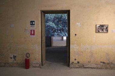 Palermo, Italy - September 08, 2018 : Uriel Orlow, artwork Wishing Trees