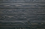 Photo Dark wooden table planks background