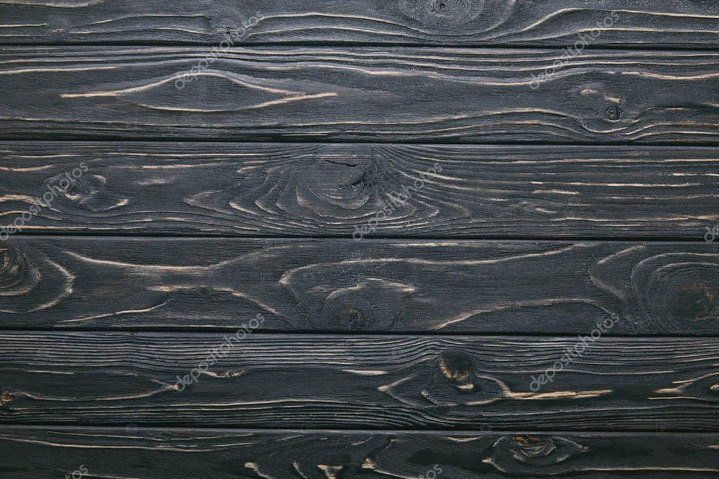 Dark wooden table planks background stock vector