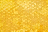 Fotografie plnoformátový včelího vosku s medem jako pozadí