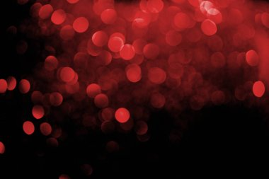 Abstract decorative background with blurred red glitter stock vector