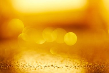 abstract blurred gold festive background