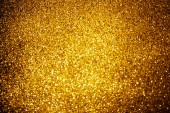 abstract background with shiny gold glitter decor