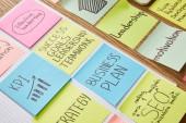 papír matrica szavak csapatmunka, üzleti terv, seo asztallapra