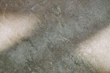 Grey shabby textured stone with sunlight stock vector