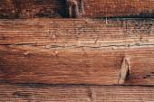 Detailní záběr rustikální dřevěné zdi pro pozadí