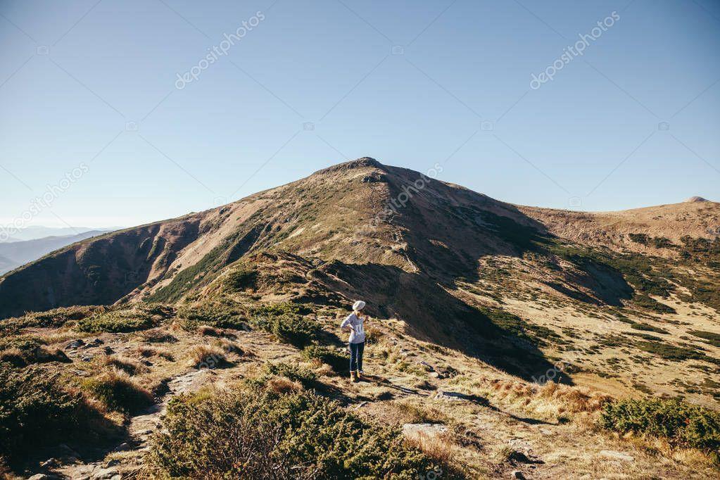 beautiful mountains landscape, Carpathians, Ukraine