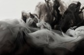 abstraktní pozadí s černou rozmíchávání barvy