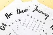 a bézs papírok 2019 naptár kiadványról