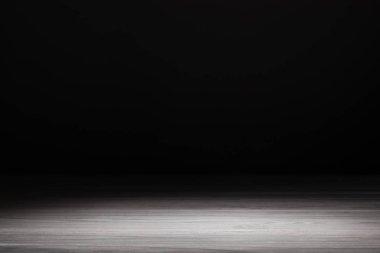 light grey striped wooden textured background on black