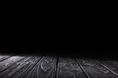 dark grey striped wooden material on black
