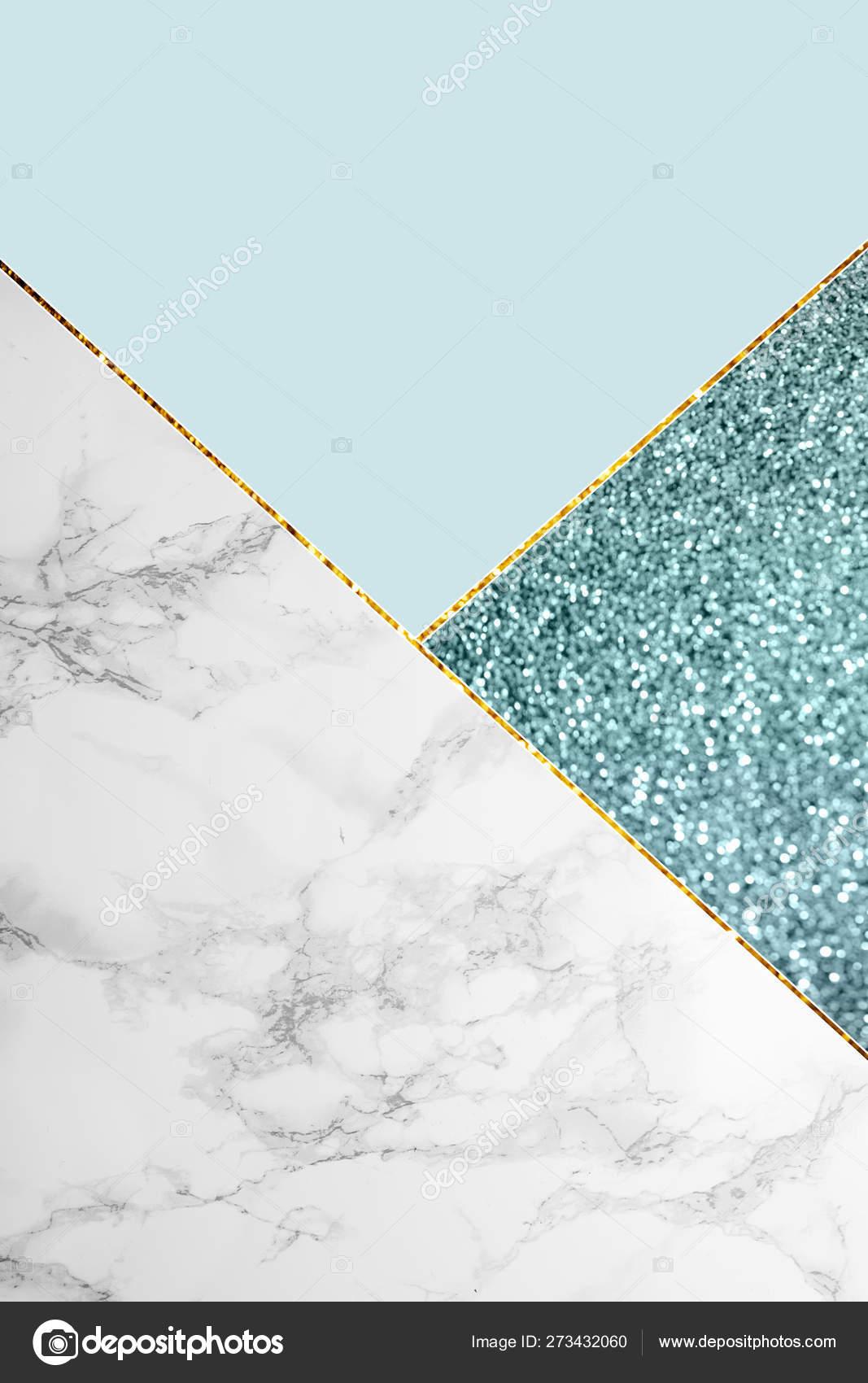 Geometric Background Blue Glitter Marble Light Blue Color Stock Photo C Antonmatyukha 273432060