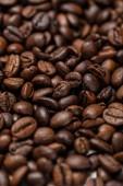 uzavřít pohled na lahodné texturované kávové vločky