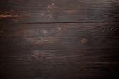vista superiore della superficie di legno marrone con spazio di copia