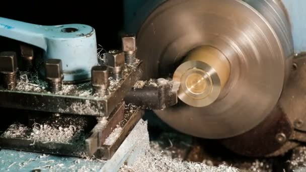 Processing of metal billets on a lathe