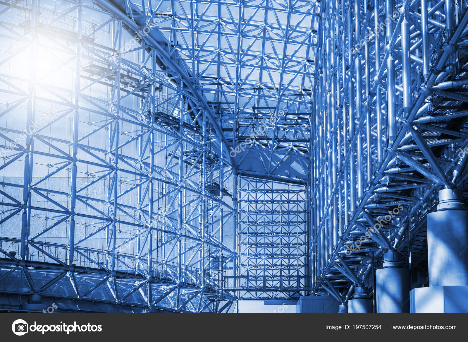 Abstract Modern Building Frames Glasses — Stock Photo © norgallery ...