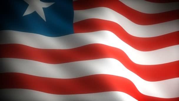 Flag of Liberia (seamless)