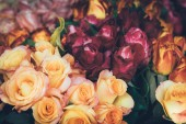 Krásná víla zasněný kouzelné květiny.