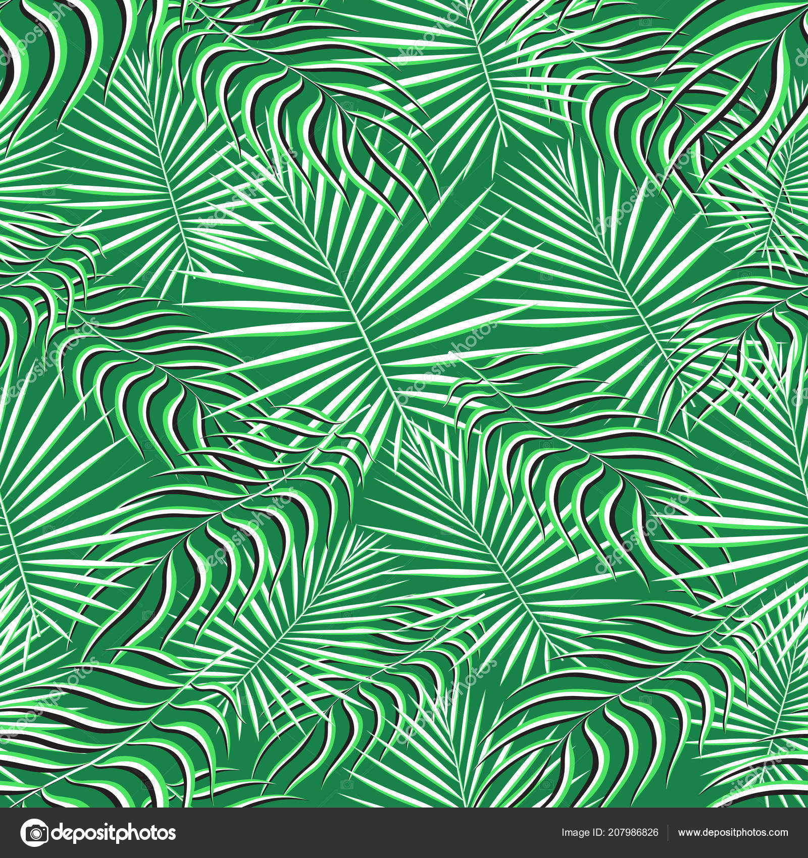 Exotic Tropic Pattern Tropical Floral Fabric Fashion Background
