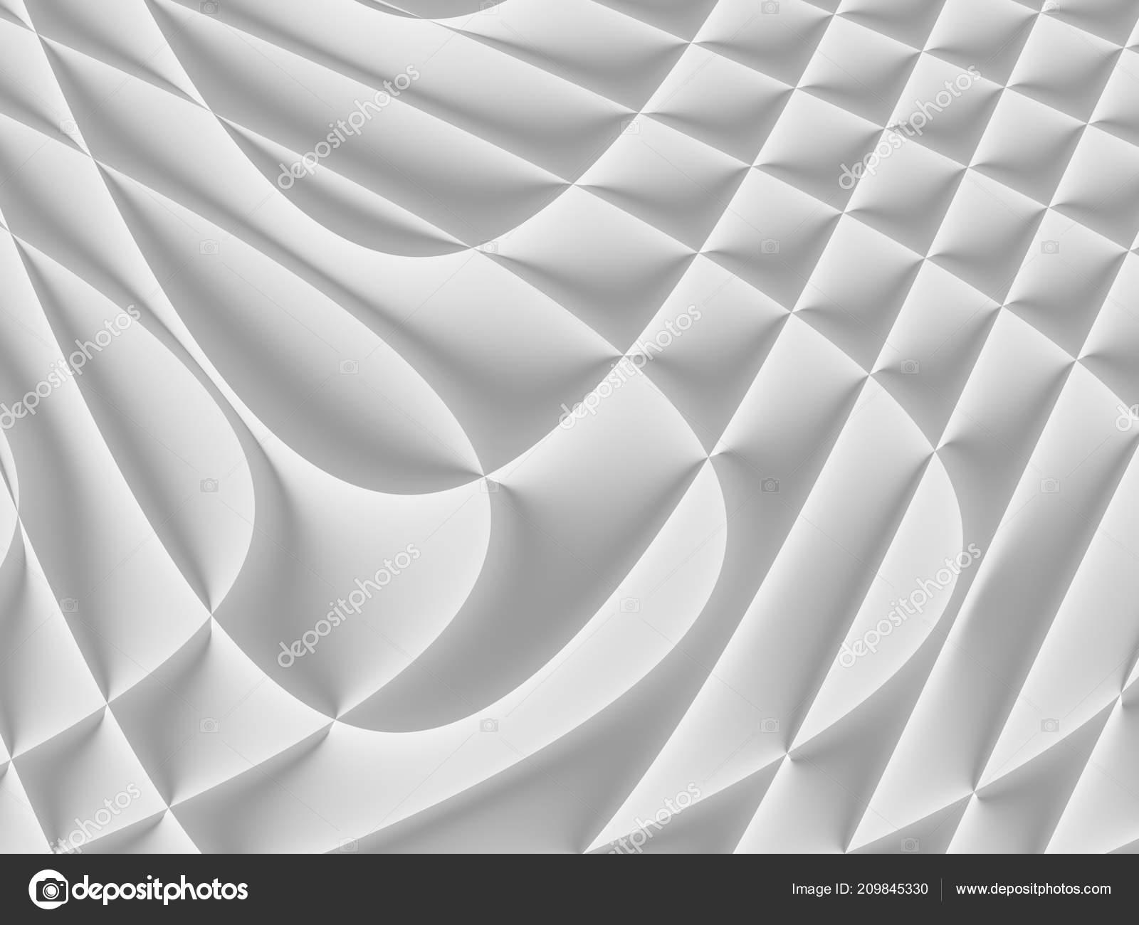 Weiße Und Graue Futuristische Muster Einfarbige Design Für