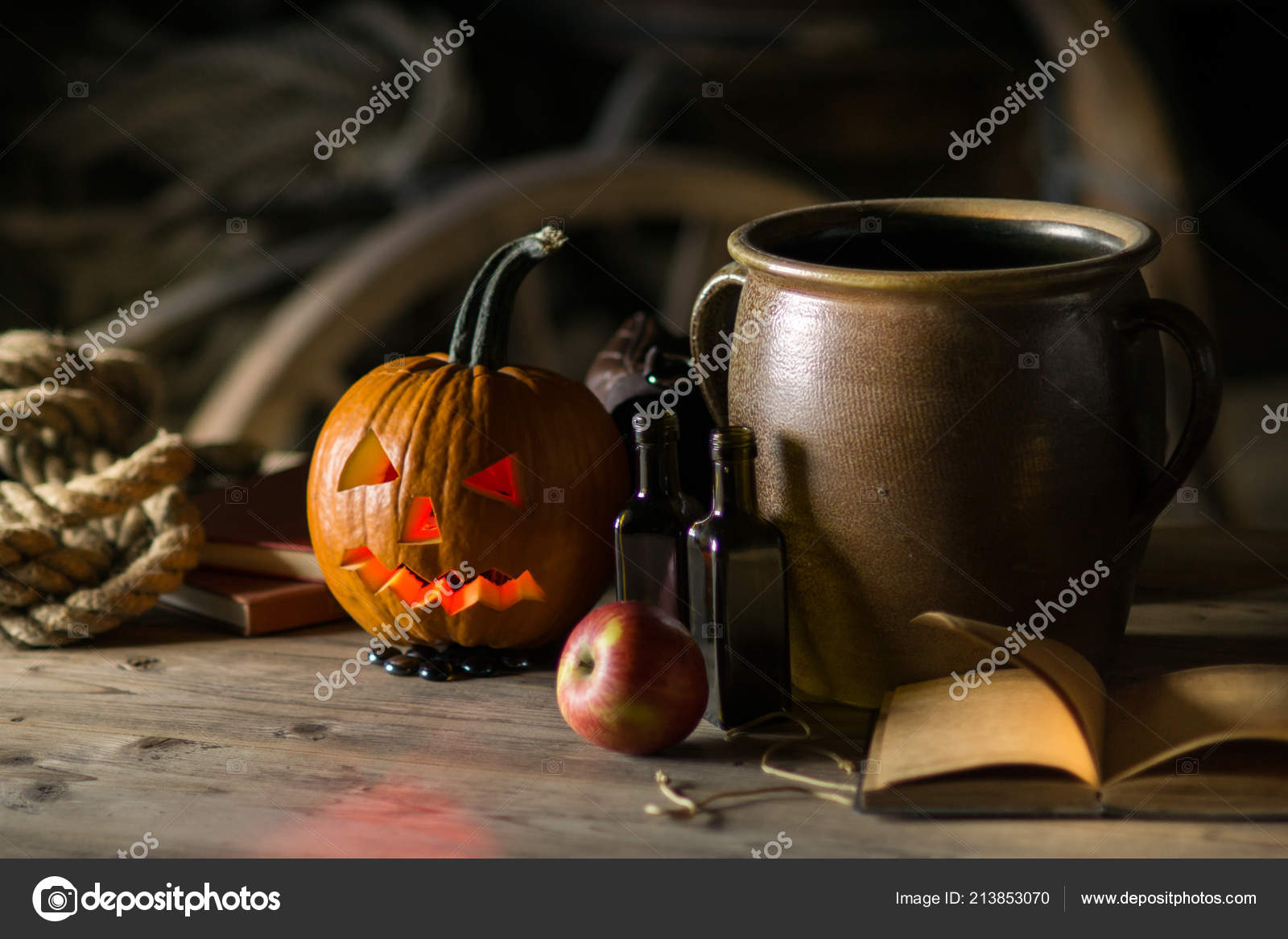 Peachy Decorations Halloween Celebration Pumpkin Face Pot Potion Download Free Architecture Designs Rallybritishbridgeorg