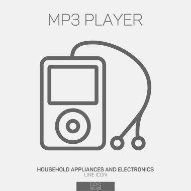 MP3 Player line icon