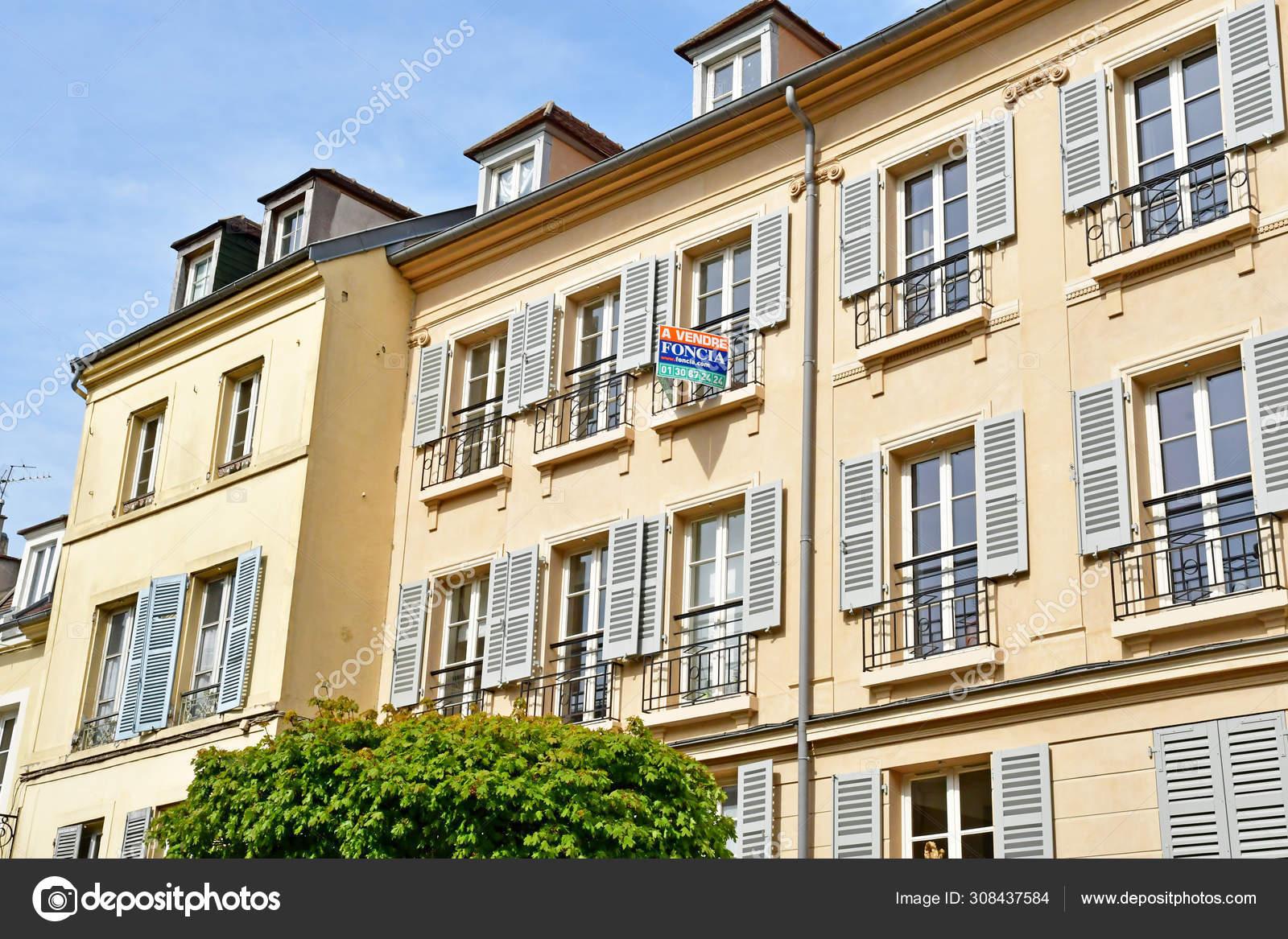 Home St Germain En Laye saint germain en laye; france - april 20 2019 : city centre
