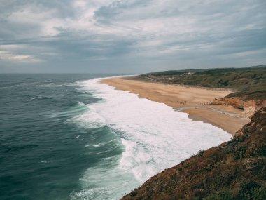 Travel Portugal Nazare big waves surfing cabo da roca