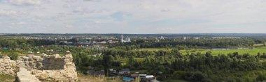 Elabuga, view Shishkinsky ponds of Chertovo Gorodishche