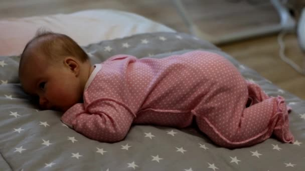 Newborn baby. Little baby. Baby sleeping. Child. Adorable baby girl. Kid sleeps