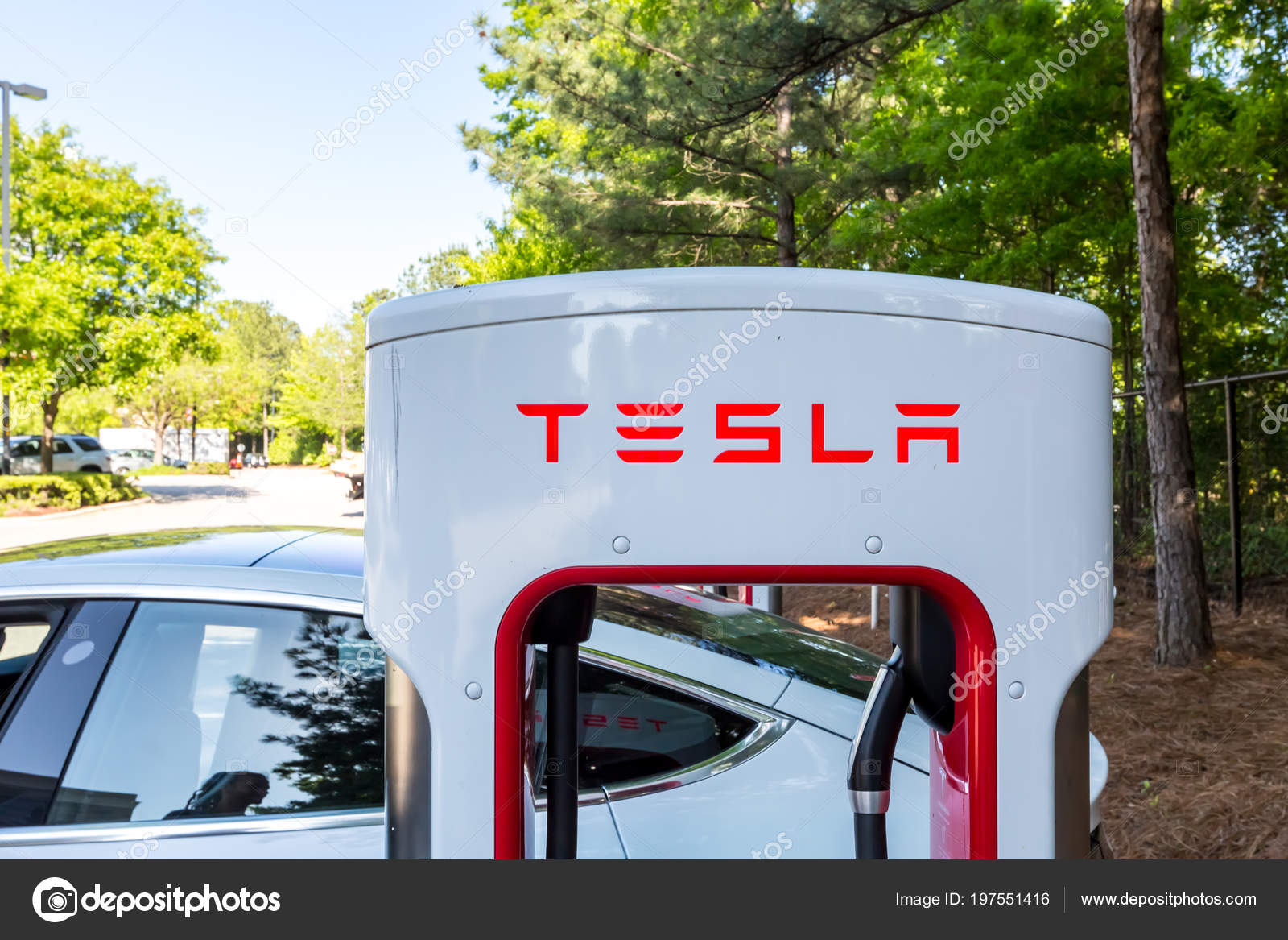 Tesla charging stations in nc