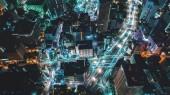 A légi felvétel a Tokyo, Japán