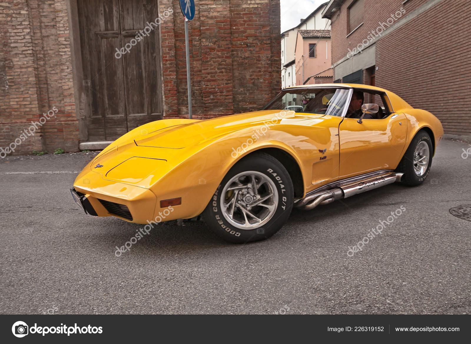 Classic American Sports Car Cheevrolet Corvette Stingray Seventies