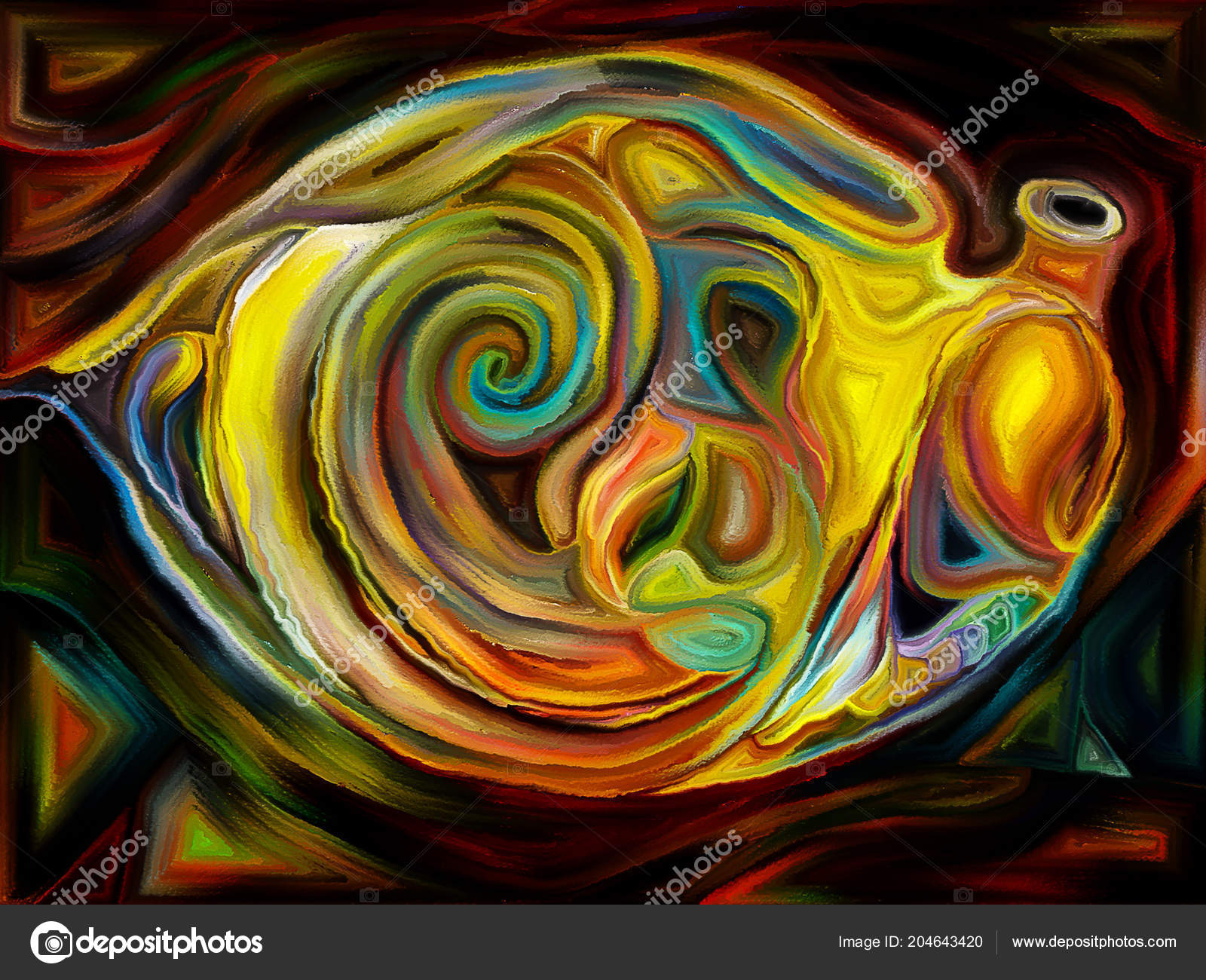 Is There Subject In Abstract Art