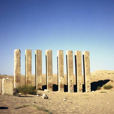 "Картина, постер, плакат, фотообои ""храм баран в пустыне близ мариба "", артикул 249336102"