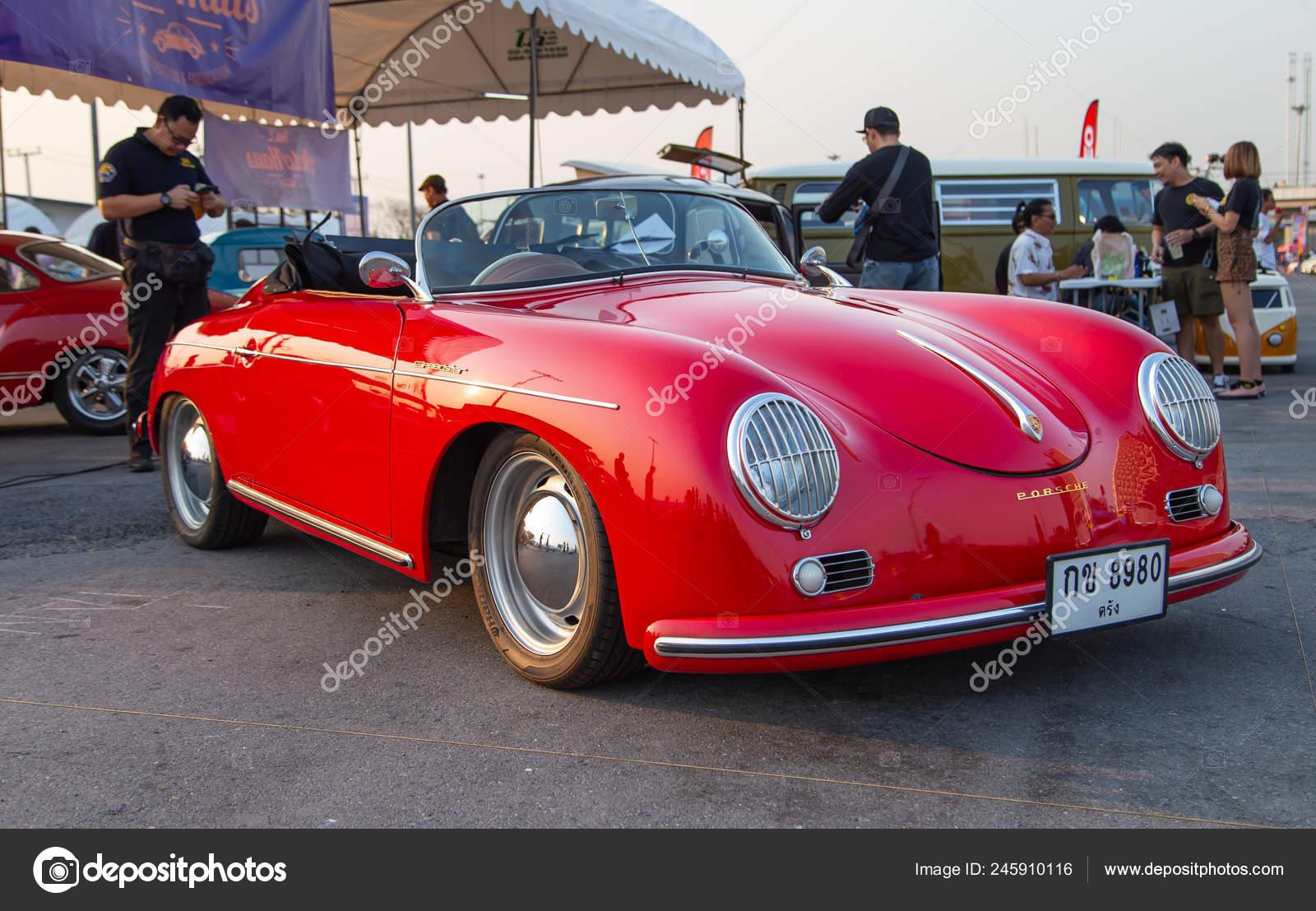 Bangkok Thailand February 2019 Vintage Porsche 356 Speedster Convertible Show Stock Editorial Photo C Isampuntarat Gmail Com 245910116