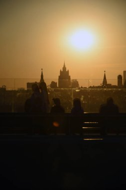 Architecture of Moscow Kremlin.