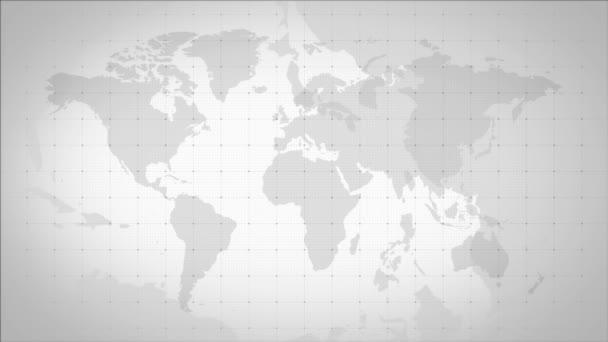 Pozadí mapy šedého světa