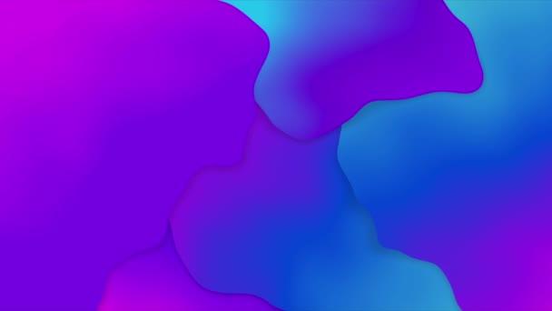 Színes gradiens folyadék formák háttér.