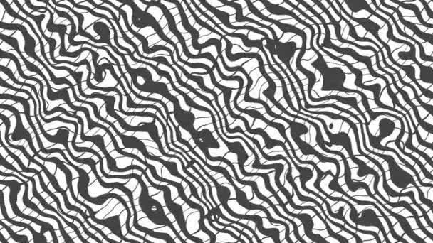 Fehér torz absztrakt vonalak háttér