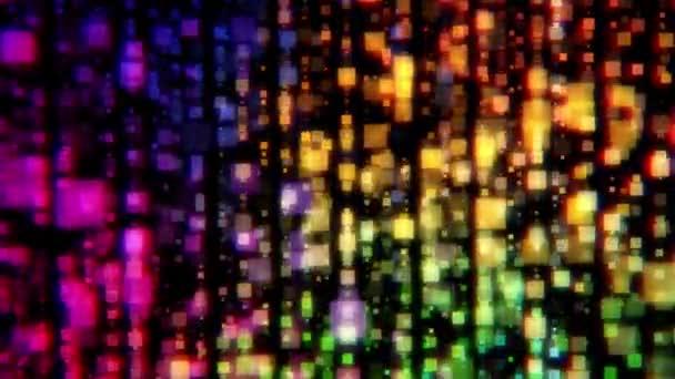 Barevné abstraktní pozadí. Barevné rozmazané světla. Barevné částice bokeh. Barevné abstraktní tekutin vlny pohybu digitální design.