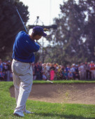 PGA Golf legenda Tiger Woods v turnajové akci z konce 90. let a na začátku roku 2000