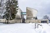 Fotografie Muzeum SNP Banská Bystrica, Slovenská republika. Architektonické téma. Cíl cesty