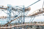 Vyhlídkové věže v Bojnice, Slovensko, průmyslový filtr