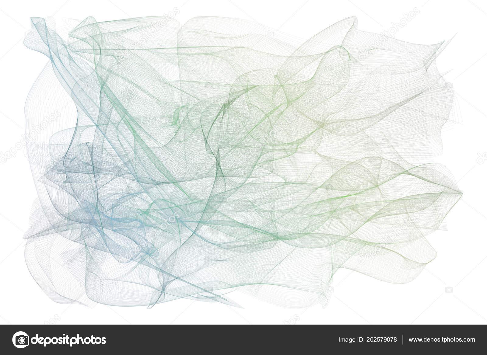 Illustrations Smoky Line Art Good Web Page Wallpaper Graphic Design — Stock Photo