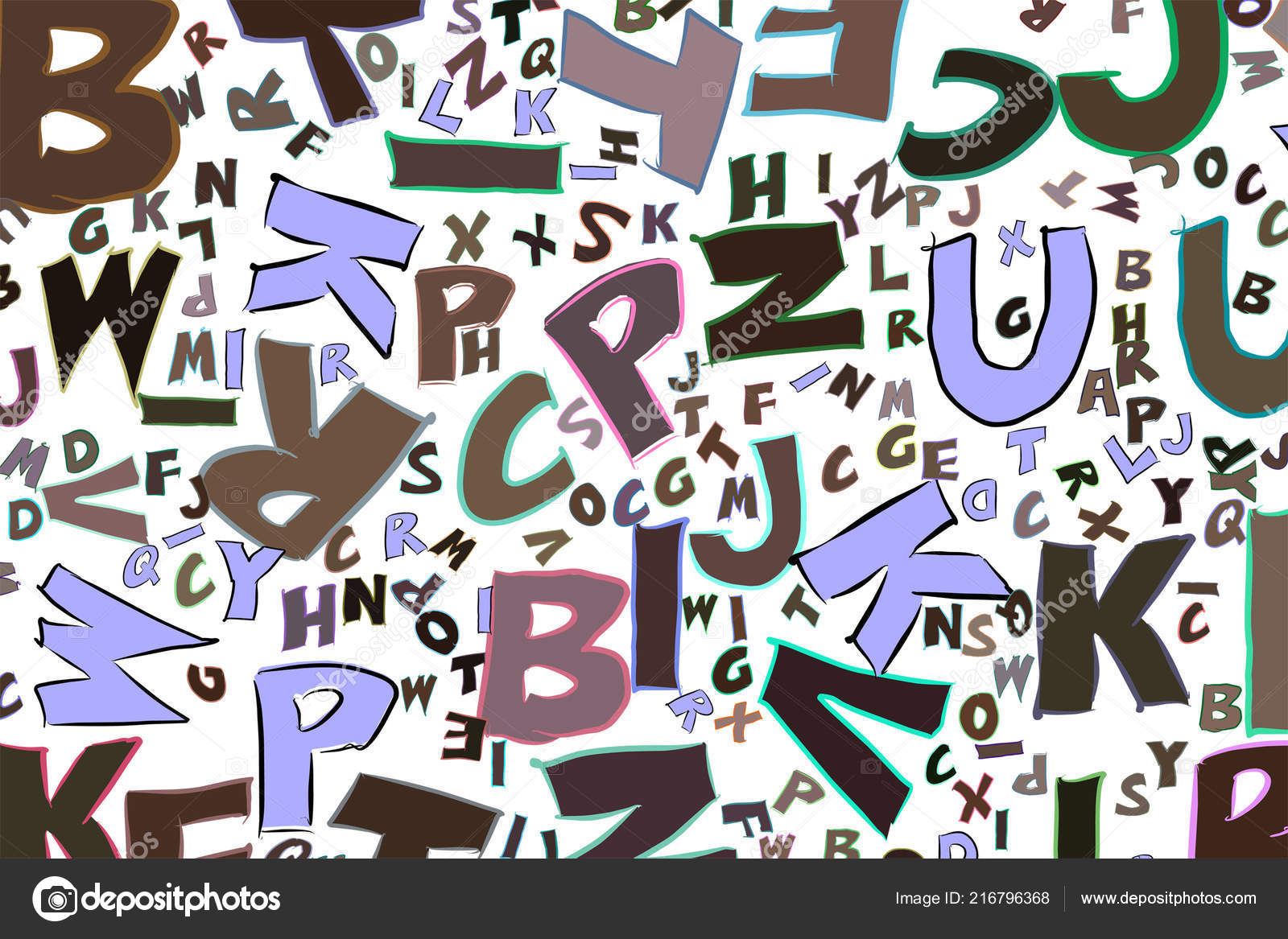 Illustrations Alphabets Letters Good Web Page Wallpaper
