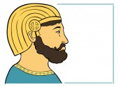 Photo Face of Cyrus simply illustration