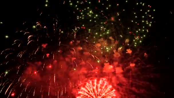 Großes Feuerwerk beim Festival