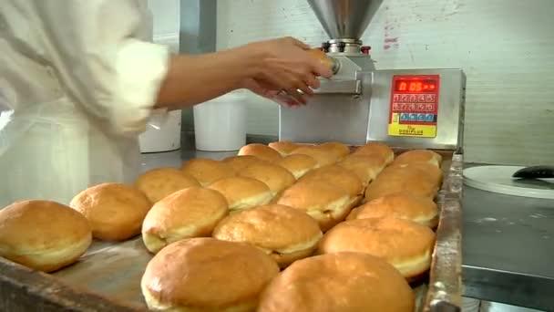 Kitöltésével a jelly donuts